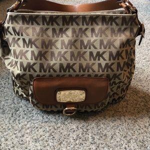 Authentic brown Michael Kors Handbag
